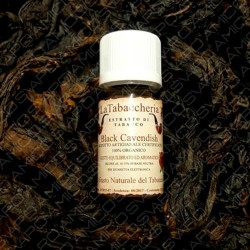 AROMI LA TABACCHERIA 10ML BLACK CAVENDISH