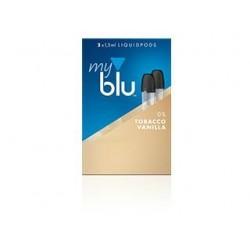 myblu® Tobacco Vanilla 0mg