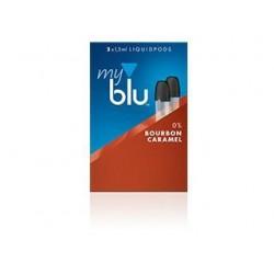 myblu® Bourbon Caramel 0mg