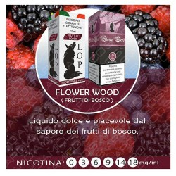 LOP 10 ML FRUTTI DI BOSCO (FLOWER WOOD)