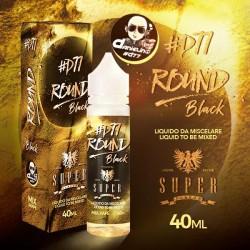 ROUND D77 BLACK 40ML MIX&VAPE - SUPERFLAVOR