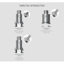 COIL NORD KIT POD - 5PCS - SMOK