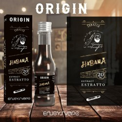 AROMA ESTRATTO HABANA 20ML LINEA ORIGIN - ENJOYSVAPO