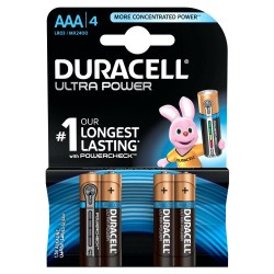 ULTRA POWER TYPE AAA - 4PCS - DURACELL