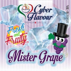AROMA 10ML CYBER FLAVOUR MR GRAPE - FRESH FRUIT