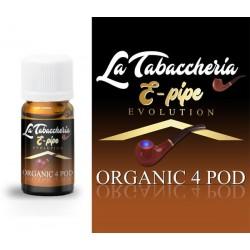 AROMA E-PIPE ORGANIC 4 POD 10ml - LA TABACCHERIA