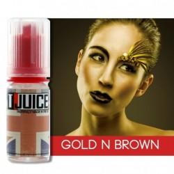 AROMI T-JUICE 10 ML GOLD'N BROWN