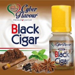 BLACK CIGAR AROMA 10ml - CYBER FLAVOUR