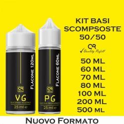 KIT BASE SCOMPOSTA 50/50 50ML - QRCODE
